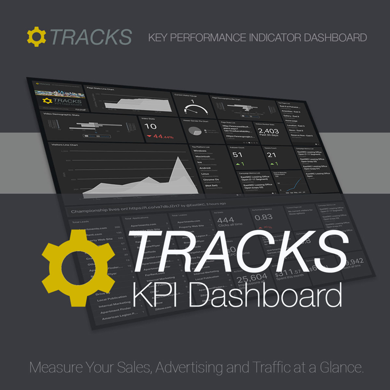 Tracks KPI dashboard